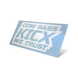 Sticker In Low bass we trust