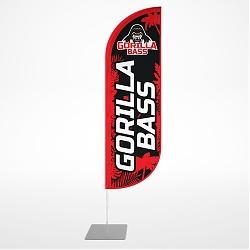 Flag-sail Gorilla Bass