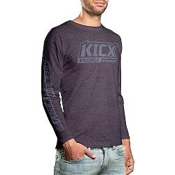 Longsleve Kicx People gray-black