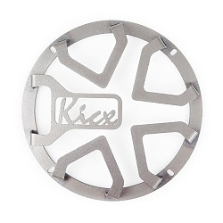 Set surround grills Kicx 8A (silver)
