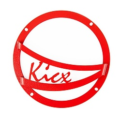 Set surround grills Kicx 6.5 A, Z-650 (red)
