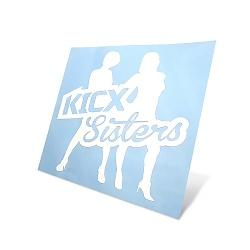 Sticker Sisters Kicx white